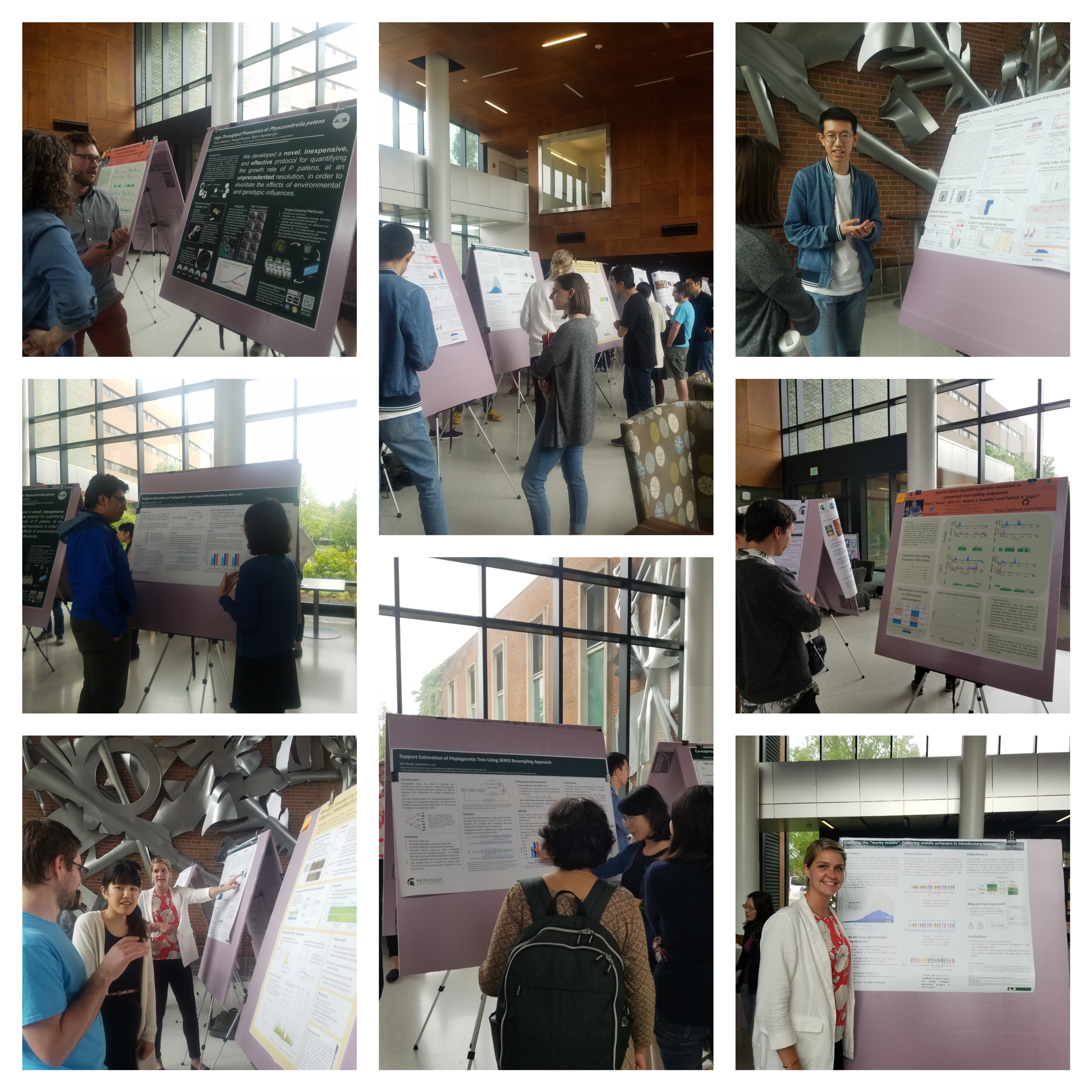 poster session image